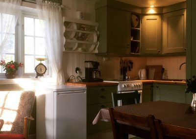 Picture of the kitchen in Bakarstuo