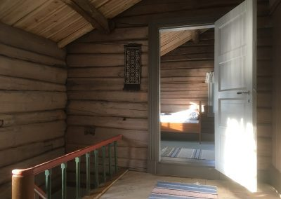 Picture of the attic hallway in Bakarstuo